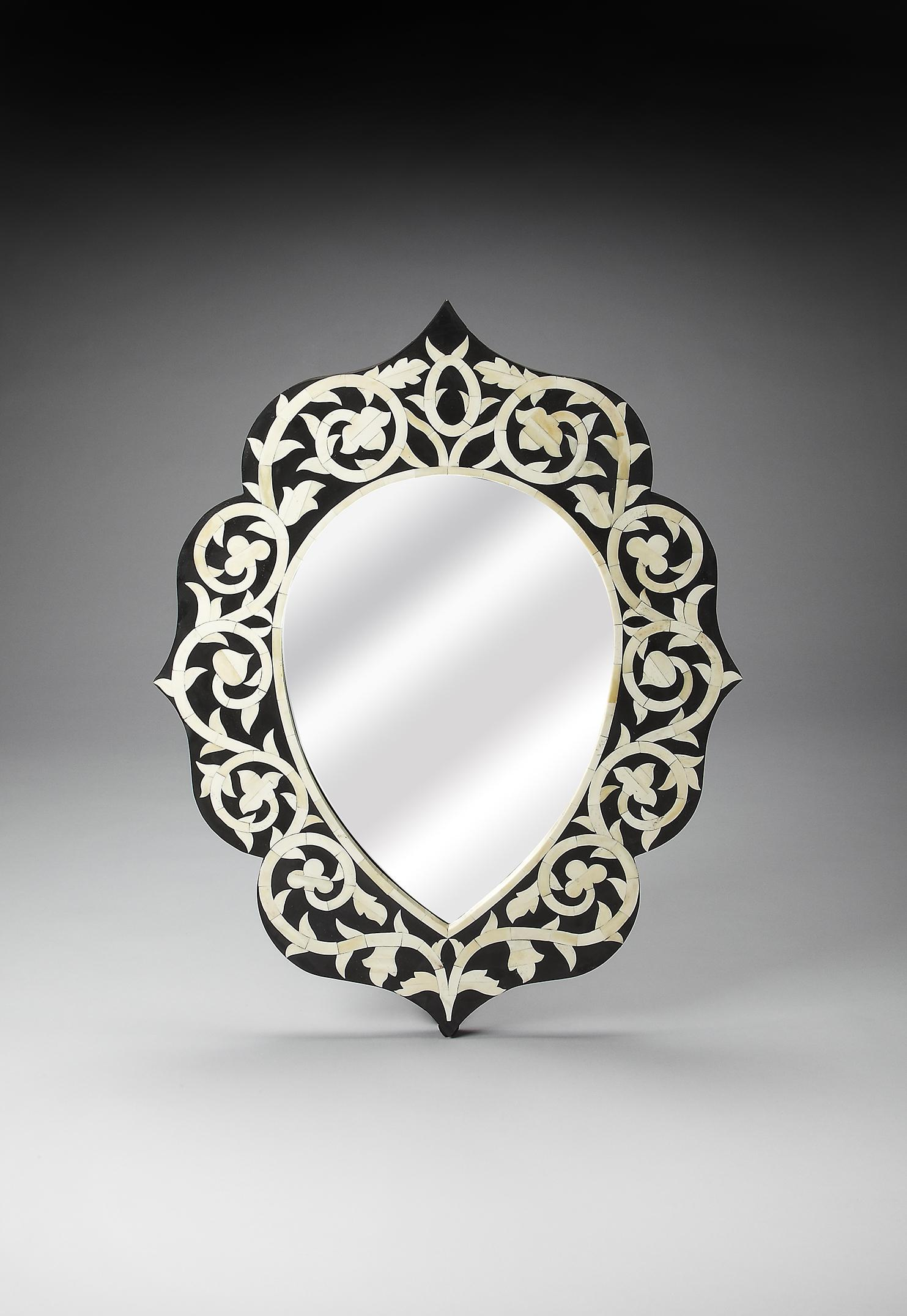 Butler Specialty Company Bone Inlay Wall Mirror - Item Number: 3483318