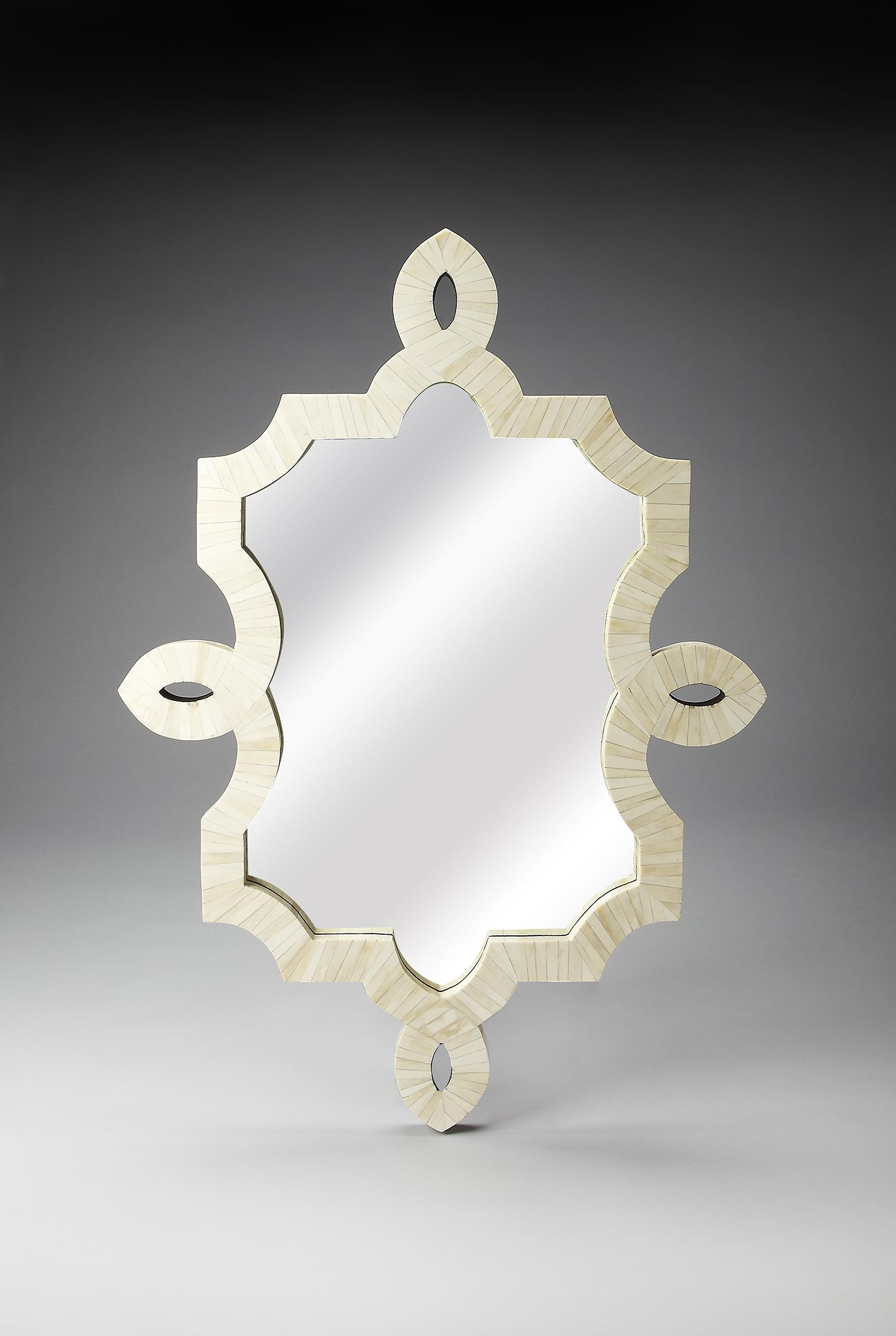 Butler Specialty Company Bone Inlay Wall Mirror - Item Number: 3484325