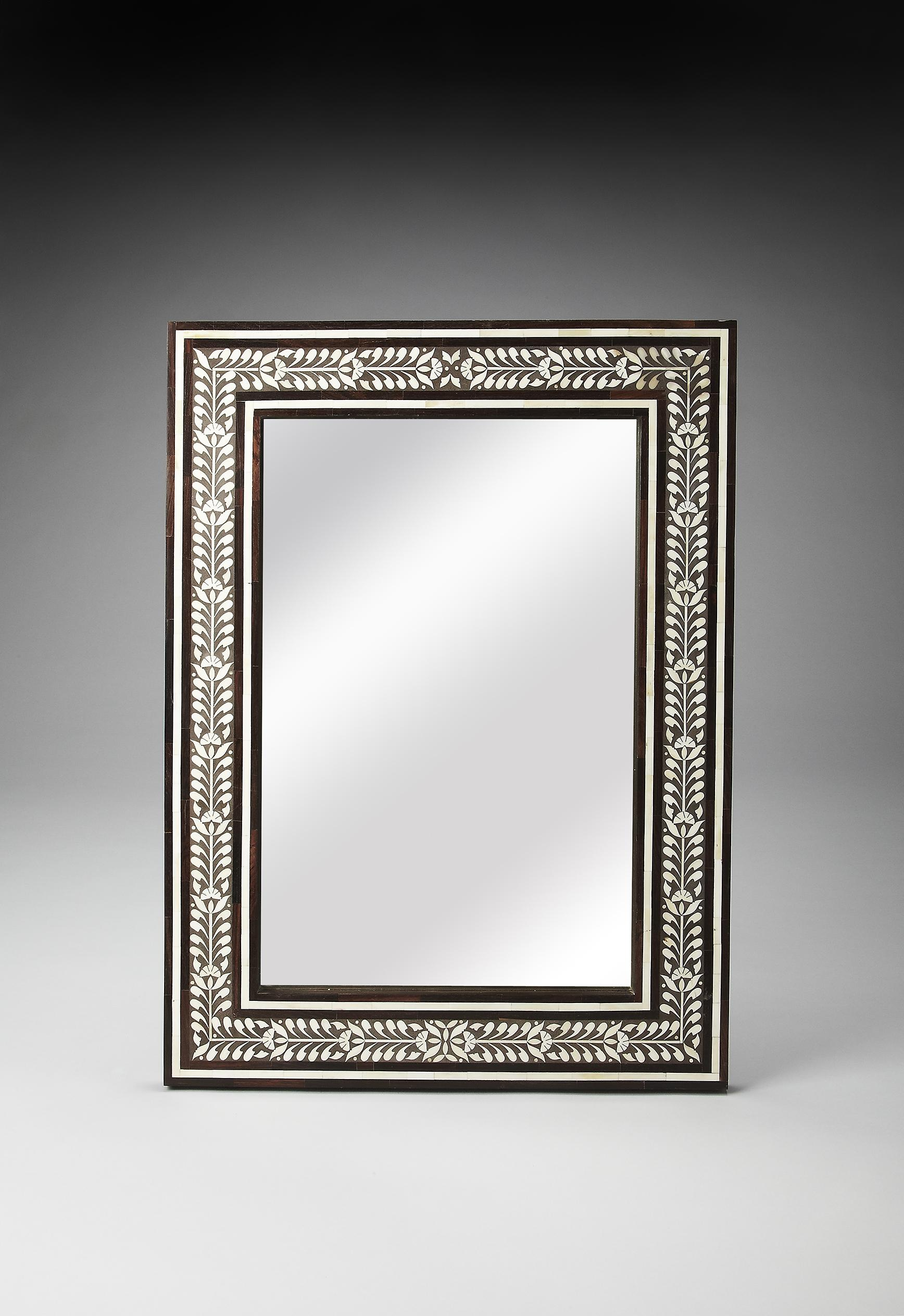 Butler Specialty Company Bone Inlay Wall Mirror - Item Number: 3485326