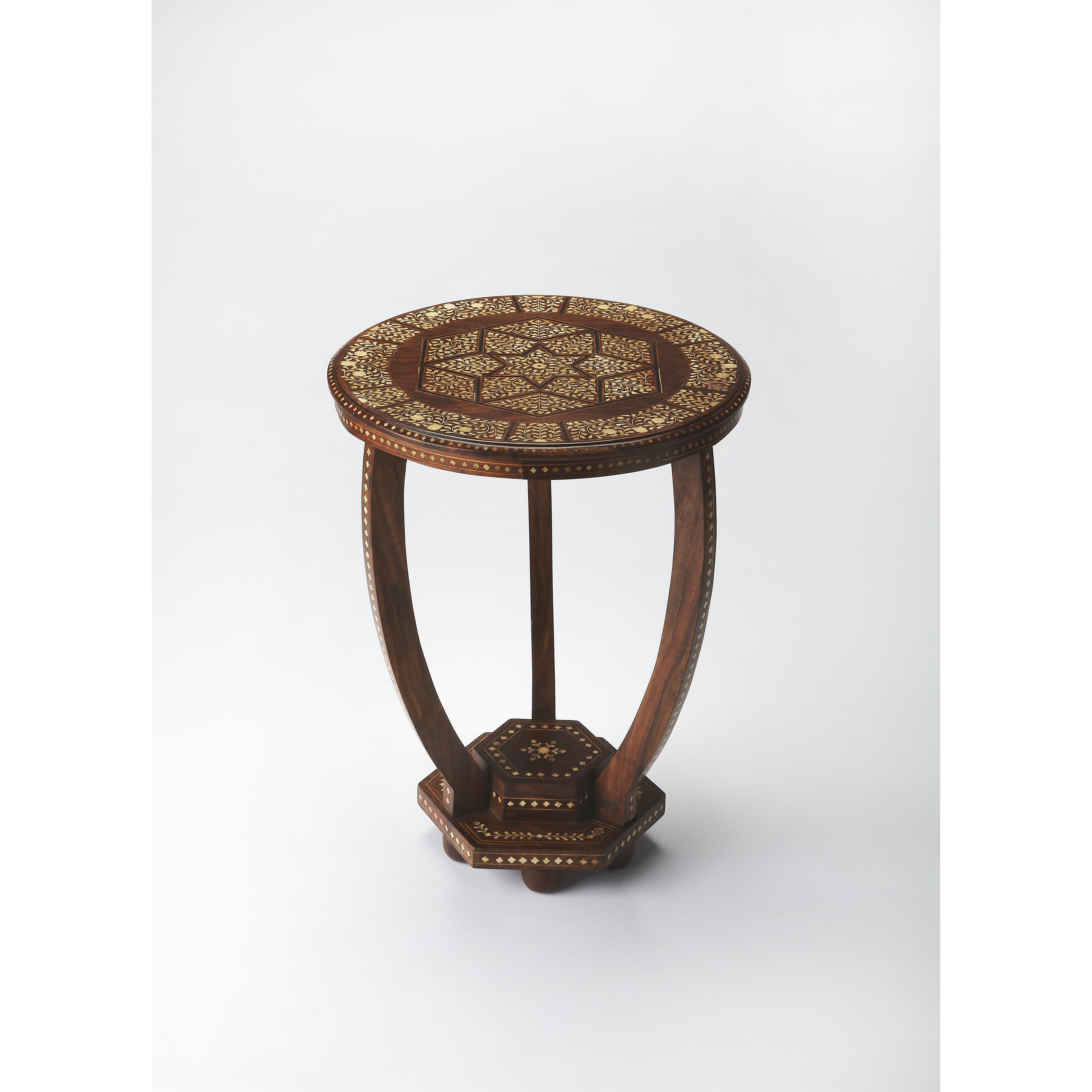 Butler Specialty Company Bone Inlay Accent Table - Item Number: 3583338