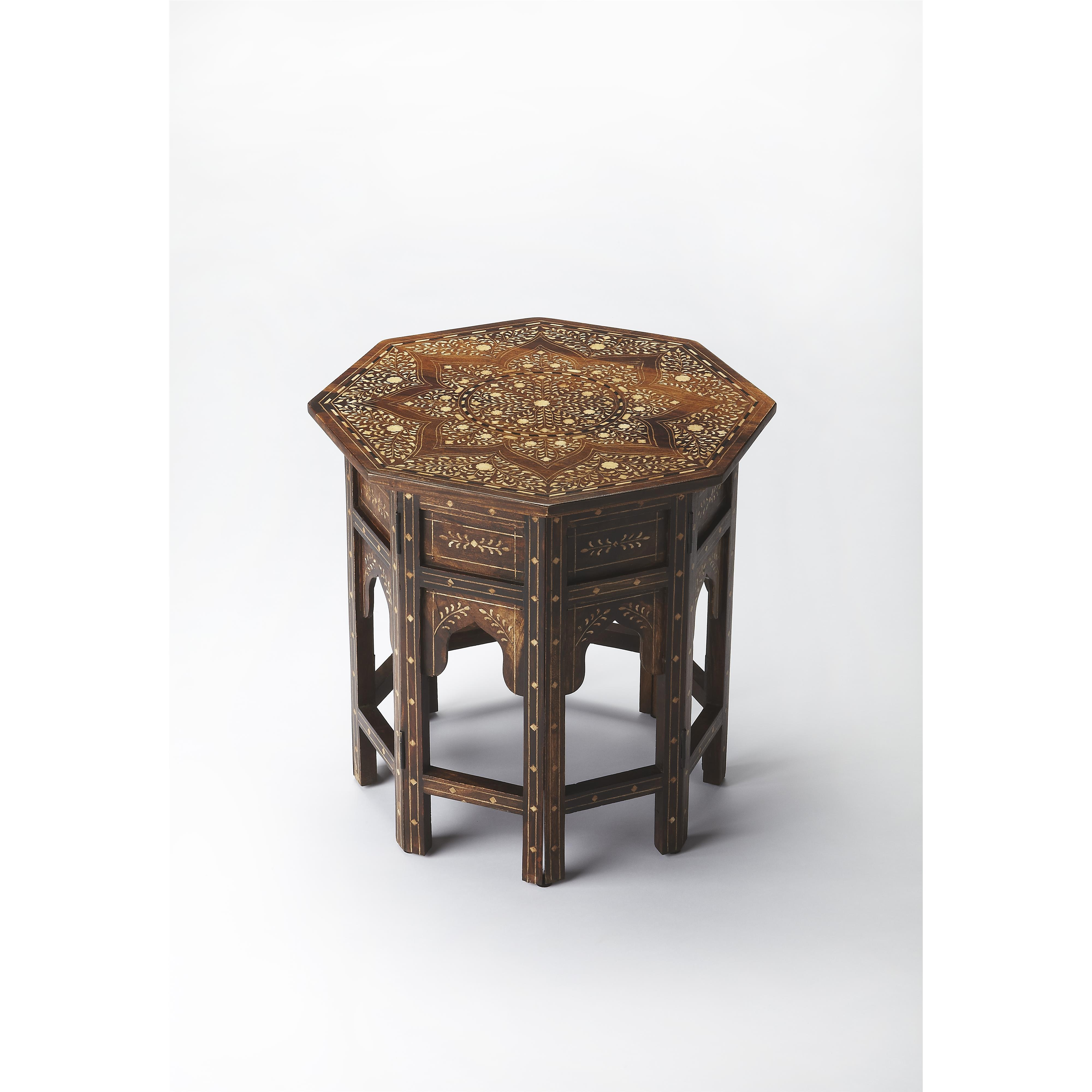 Butler Specialty Company Bone Inlay Accent Table - Item Number: 3596338