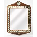 Butler Specialty Company Bone Inlay Wall Mirror - Item Number: 3879338