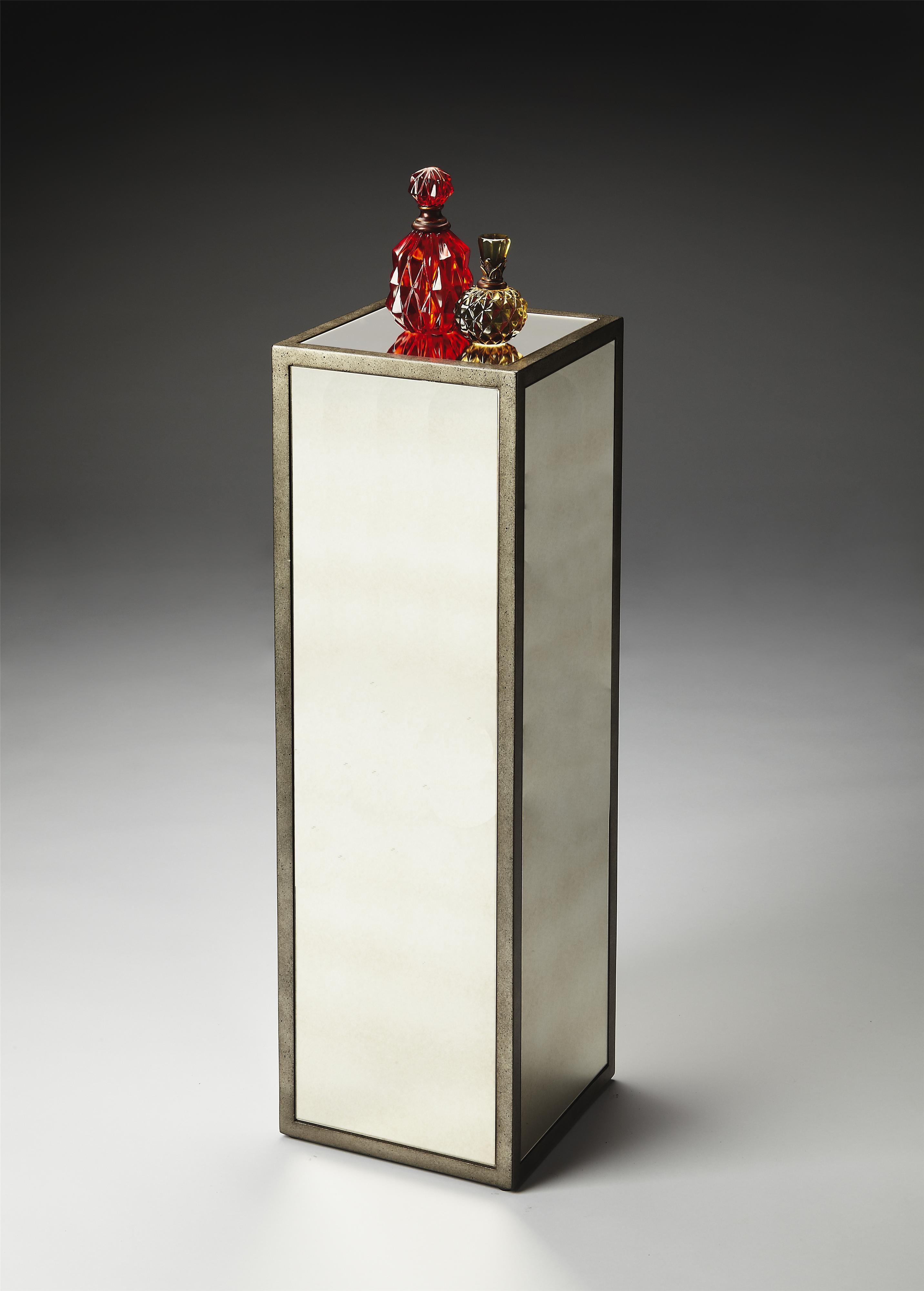 Butler Specialty Company Butler Loft Mirrored Pedestal - Item Number: 4101146