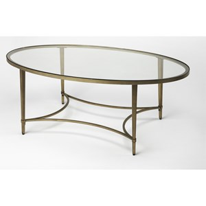 Butler Specialty Company Butler Loft Oval Cocktail Table