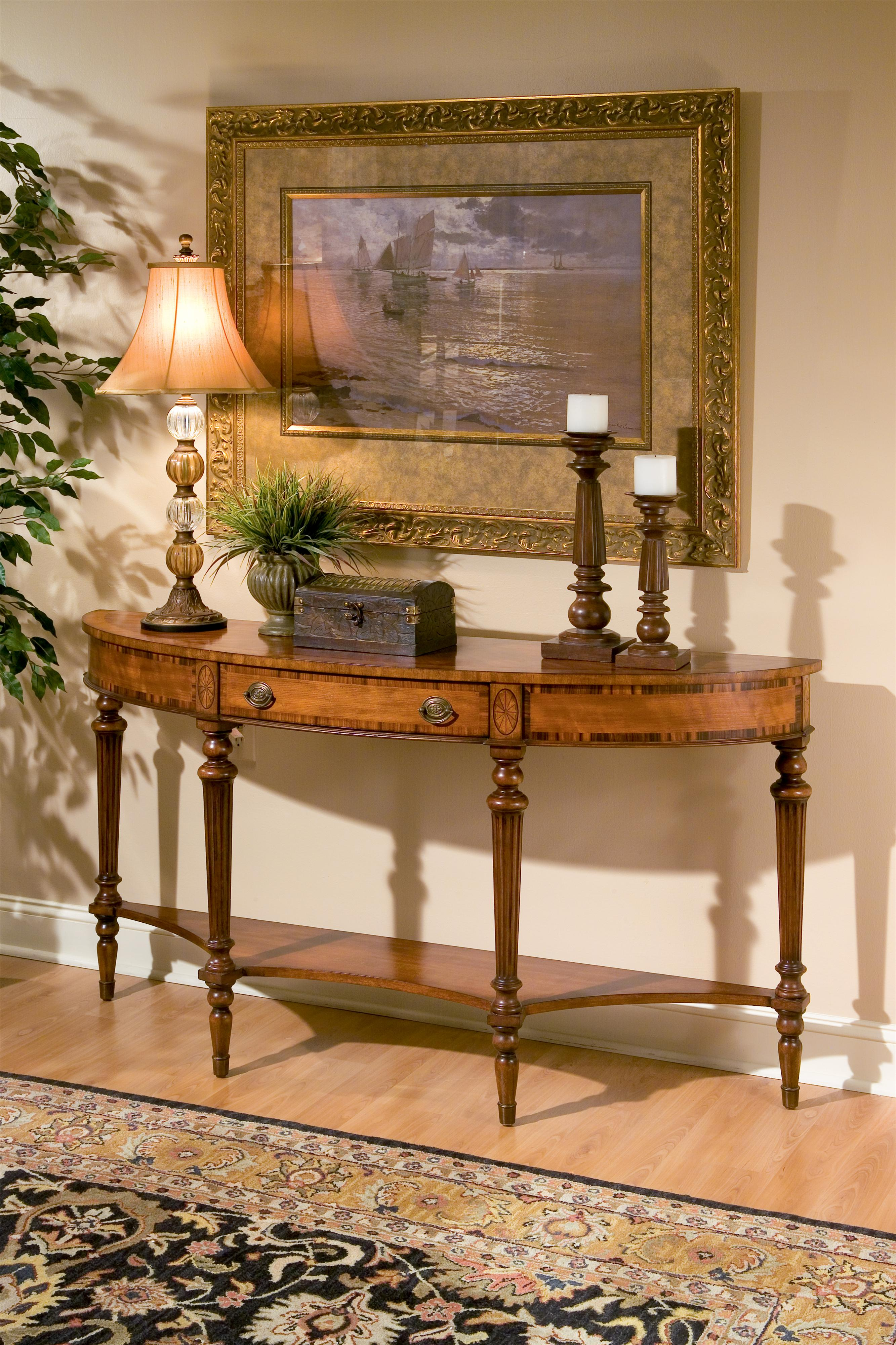 Butler Specialty Company Connoisseur's Demilune Console - Item Number: 1510090