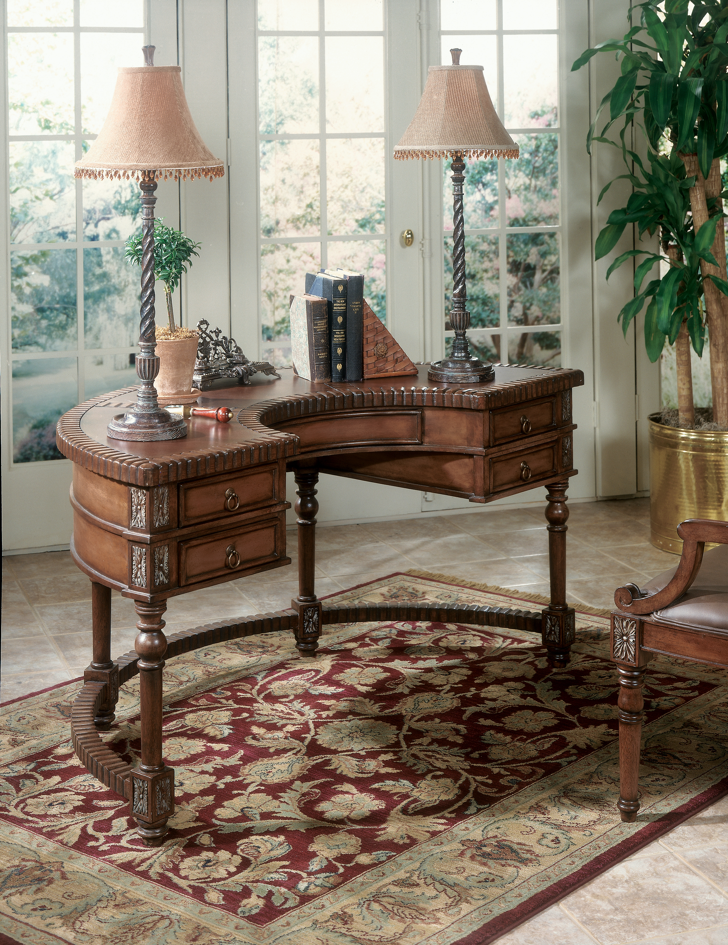 Butler Specialty Company Connoisseur's Demilune Desk - Item Number: 714090