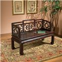 Butler Specialty Company Eastern Inspirations Bench - Item Number: 1405096