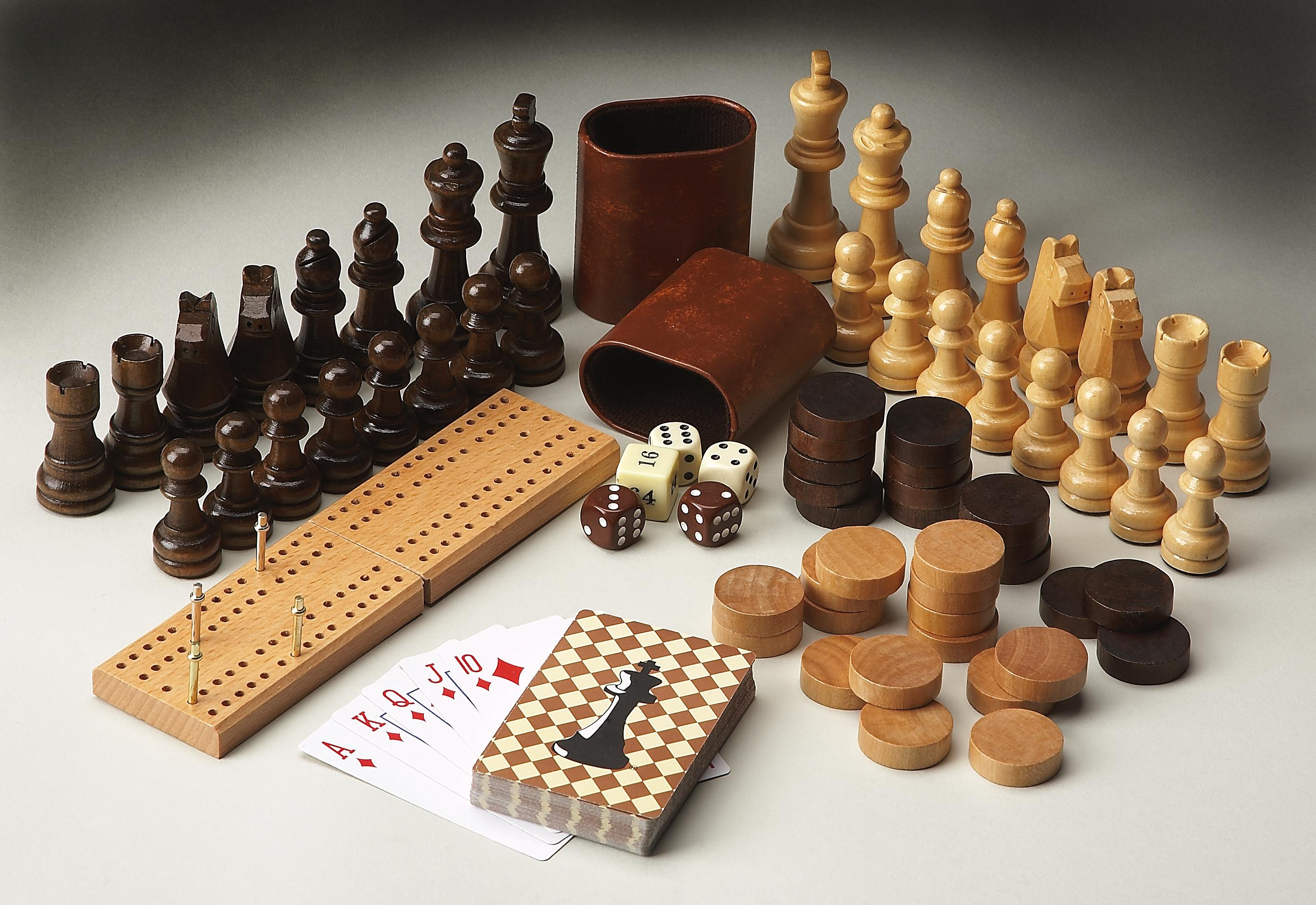 Butler Specialty Company Heritage Game Pieces - Item Number: 3051000