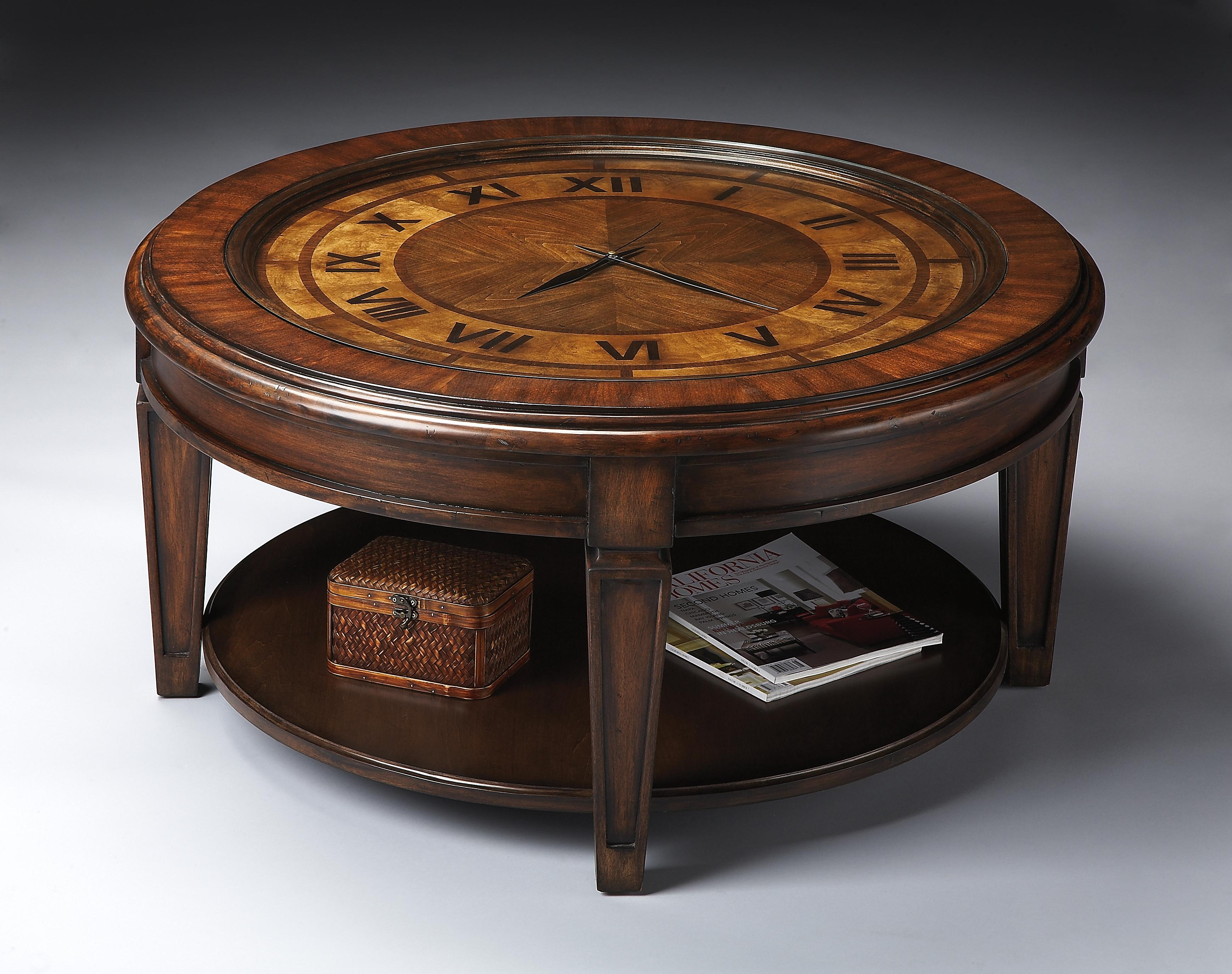 Butler Specialty Company Heritage Clock Cocktail Table - Item Number: 6047070