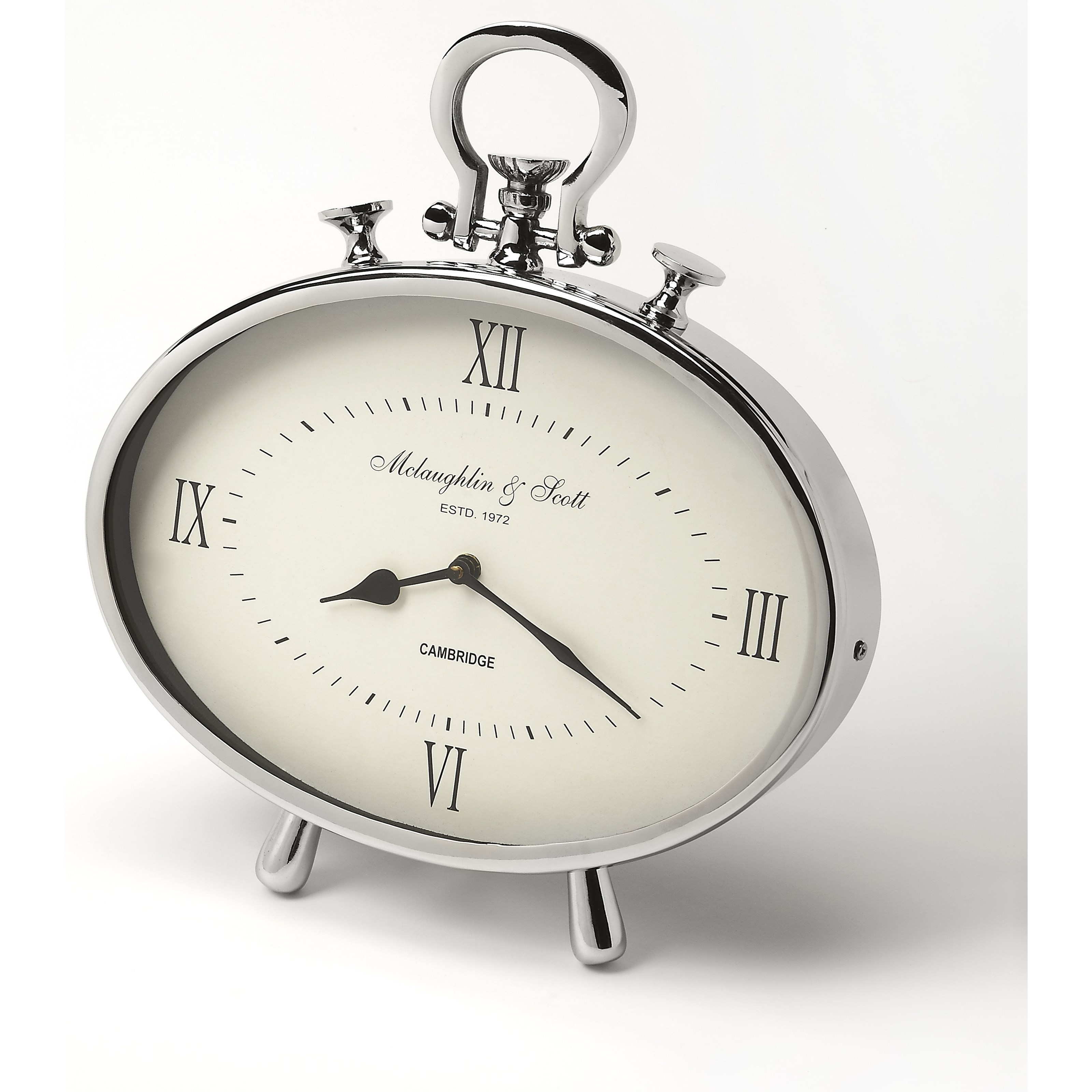 Butler Specialty Company Hors D'oeuvres Desk Clock - Item Number: 6207365