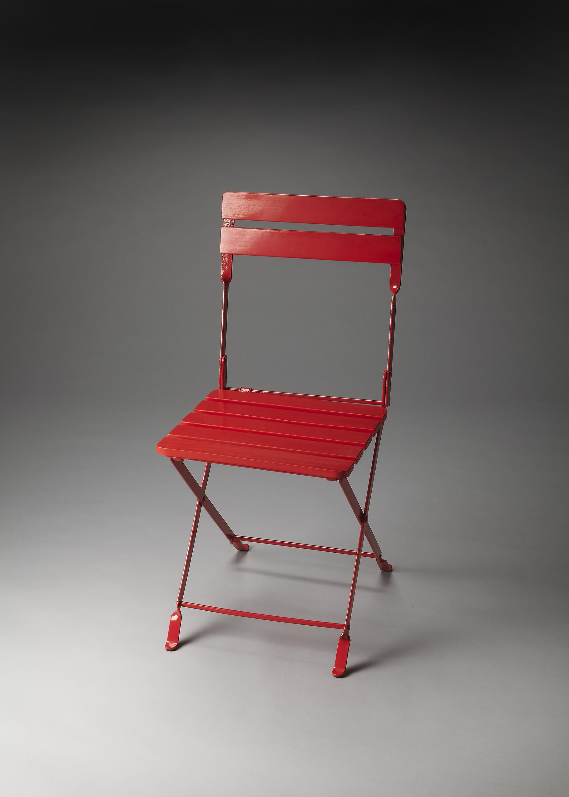 Butler Specialty Company Industrial Chic Folding Chair - Item Number: 4236293