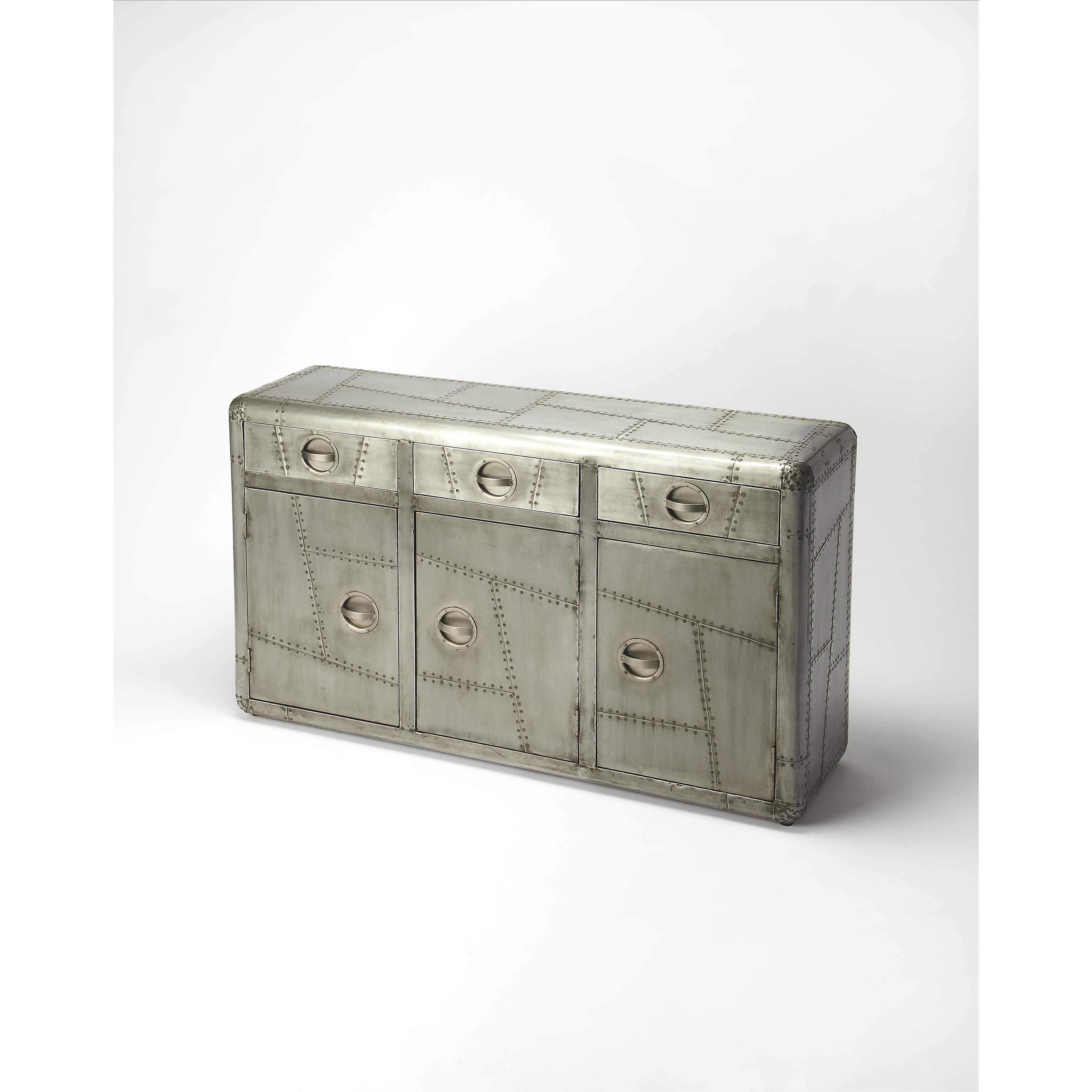 Butler Specialty Company Industrial Chic Console Cabinet - Item Number: 5152330
