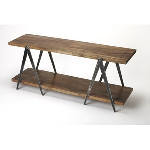 Butler Specialty Company Industrial Chic Display Console Table