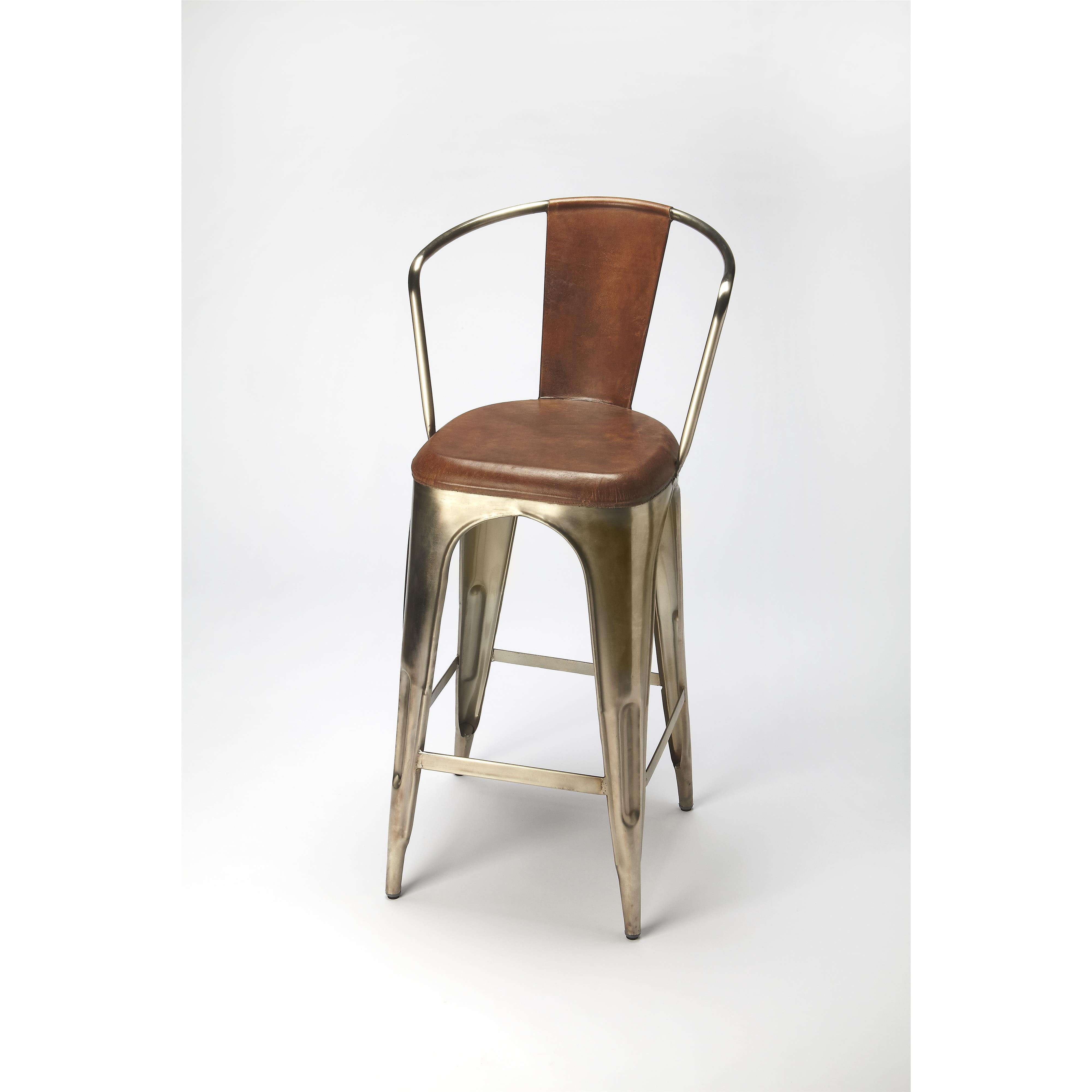 Butler Specialty Company Industrial Chic Barstool - Item Number: 6130344