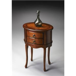 Butler Specialty Company Masterpiece  Oval Side Table