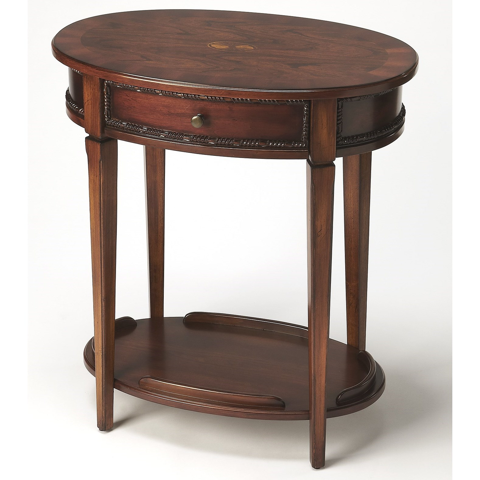 Butler Specialty Company Masterpiece  Oval Side Table - Item Number: 3425011