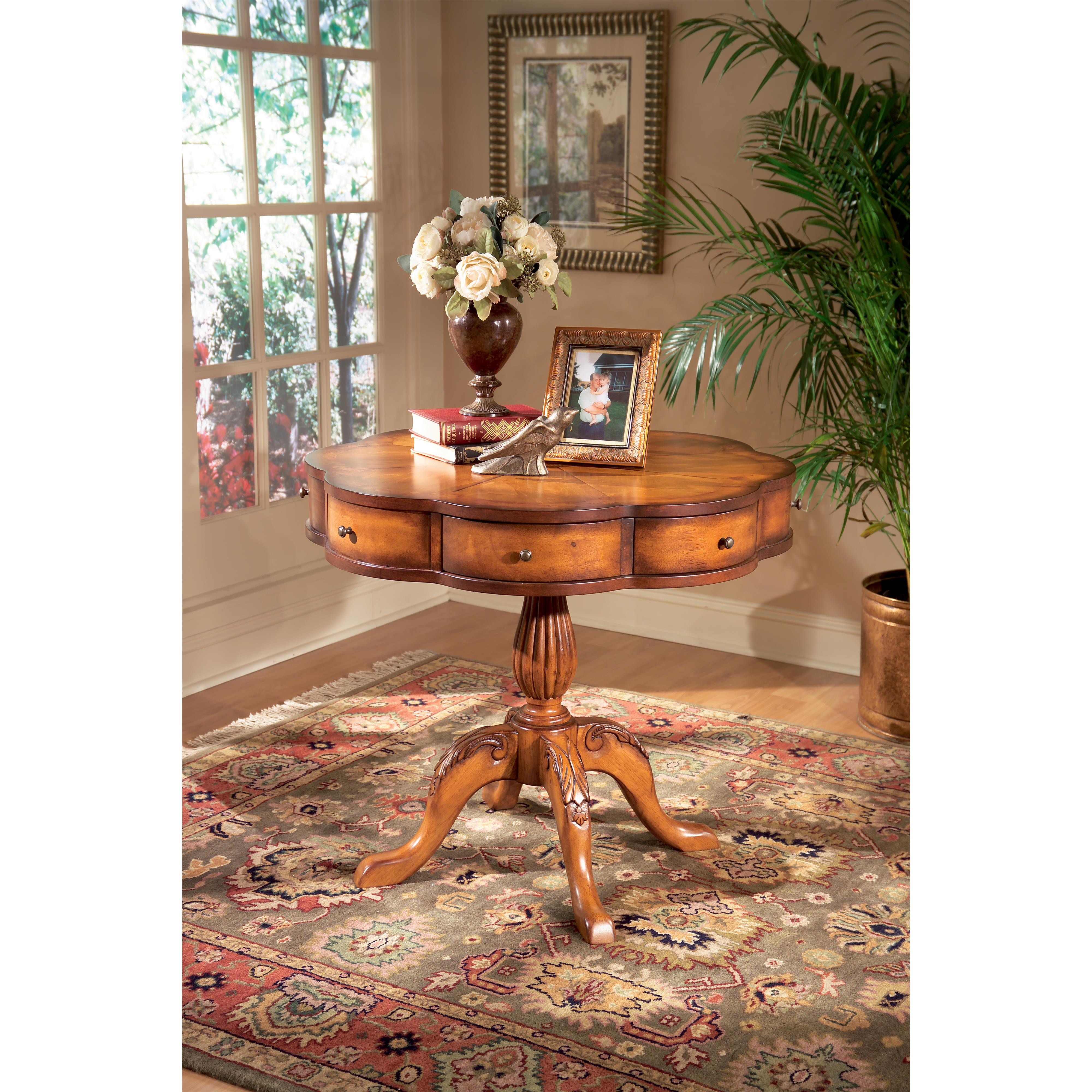 Butler Specialty Company Masterpiece  Clover Pedestal Table - Item Number: 401101