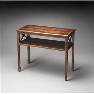 Butler Specialty Company Masterpiece  Alcott Dark Toffee Console Table