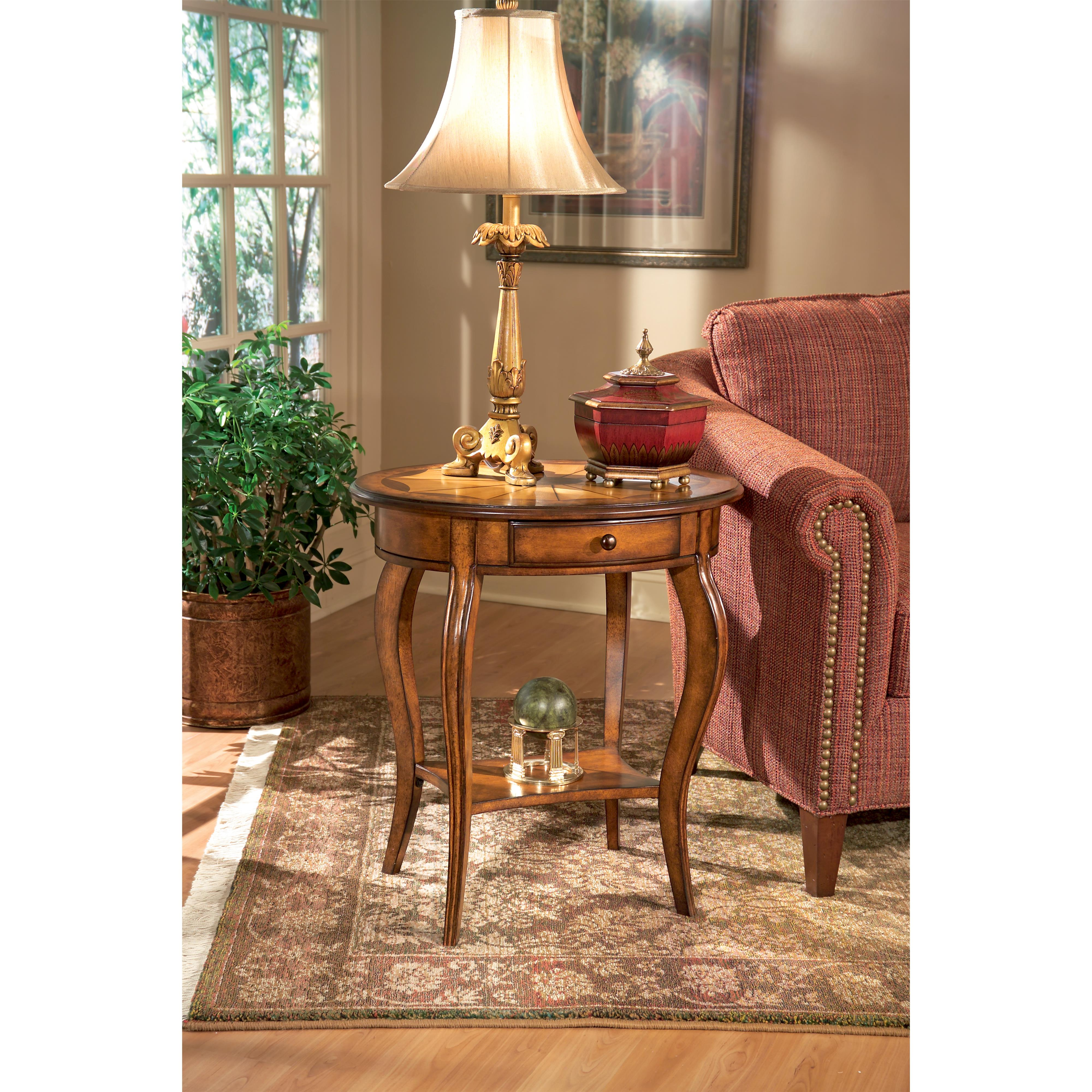 Butler Specialty Company Masterpiece  Oval Accent Table - Item Number: 532101