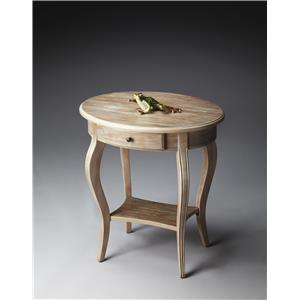 Butler Specialty Company Masterpiece  Oval Accent Table