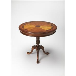 Butler Specialty Company Masterpiece  Round Pedestal Table