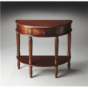 Butler Specialty Company Masterpiece  Demilune Console Table