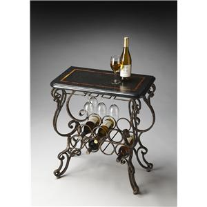 Butler Specialty Company Metalworks Wine Console