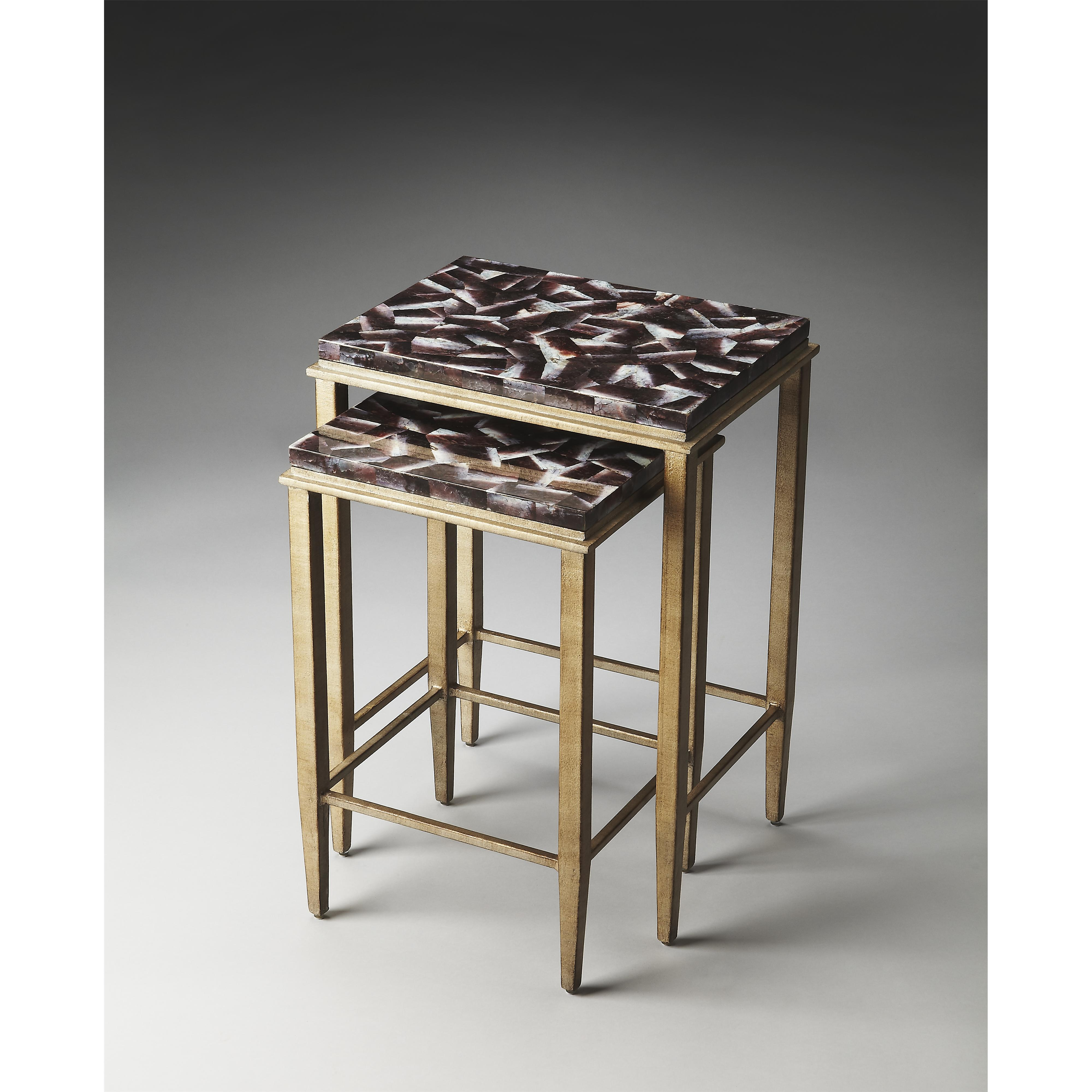 Butler Specialty Company Metalworks Nesting Tables - Item Number: 2522025