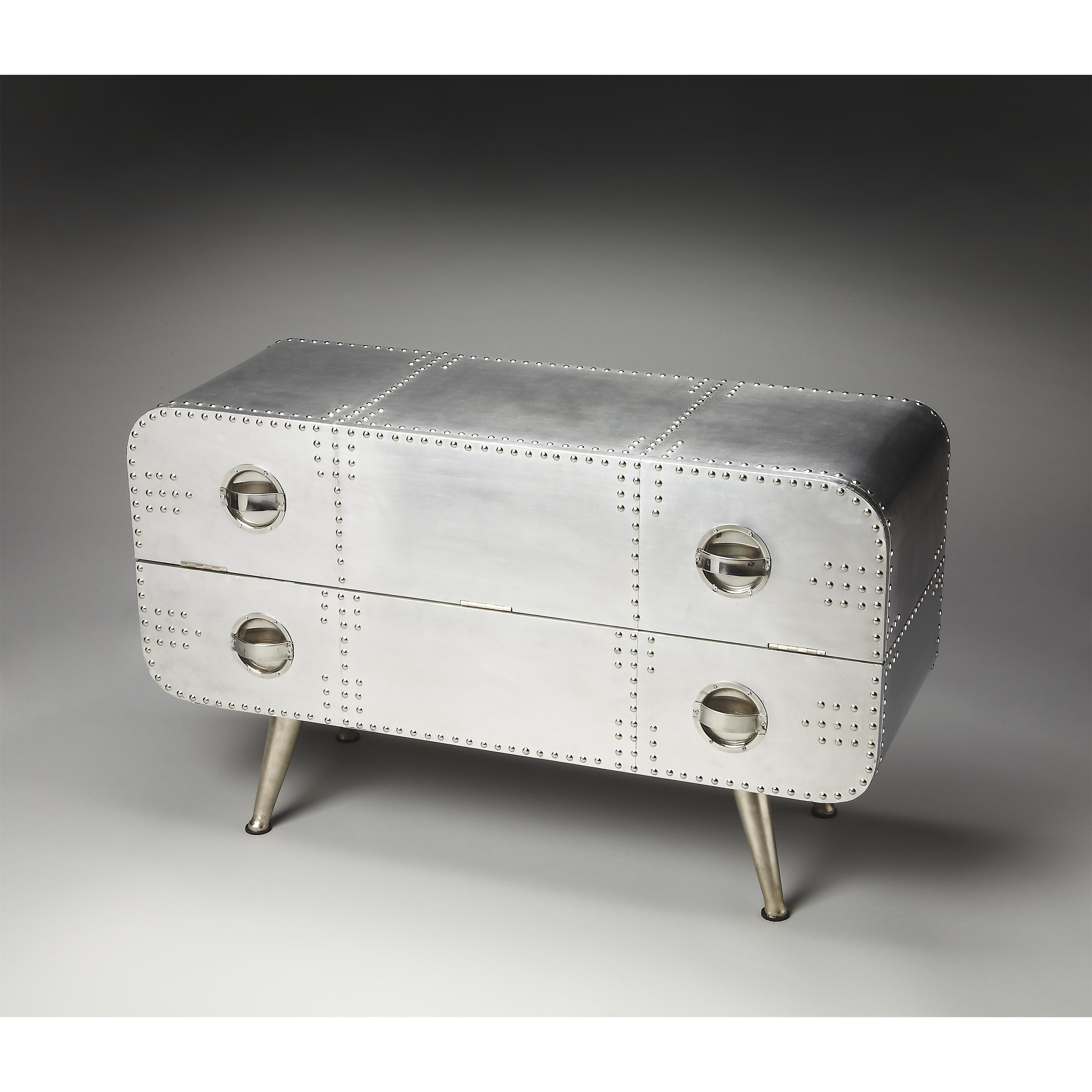 Butler Specialty Company Metalworks Console Chest - Item Number: 2554025