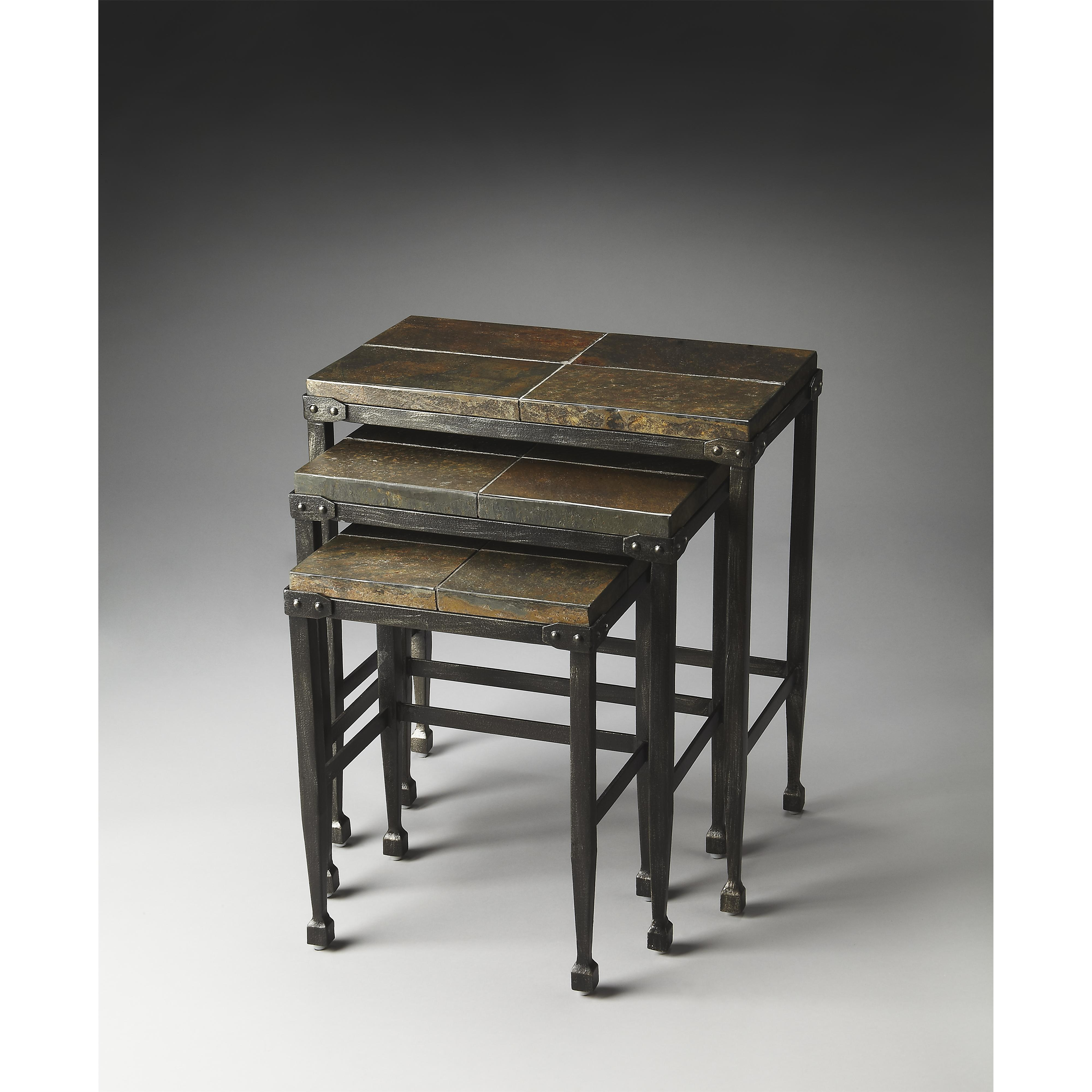 Butler Specialty Company Metalworks Nesting Tables - Item Number: 2683025