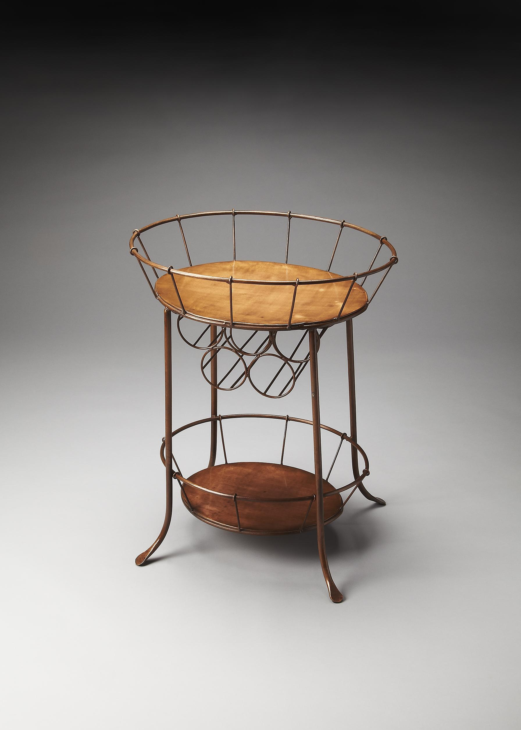 Butler Specialty Company Metalworks Wine Storage Table - Item Number: 2843025