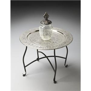 Butler Specialty Company Metalworks Moroccan Tray Table