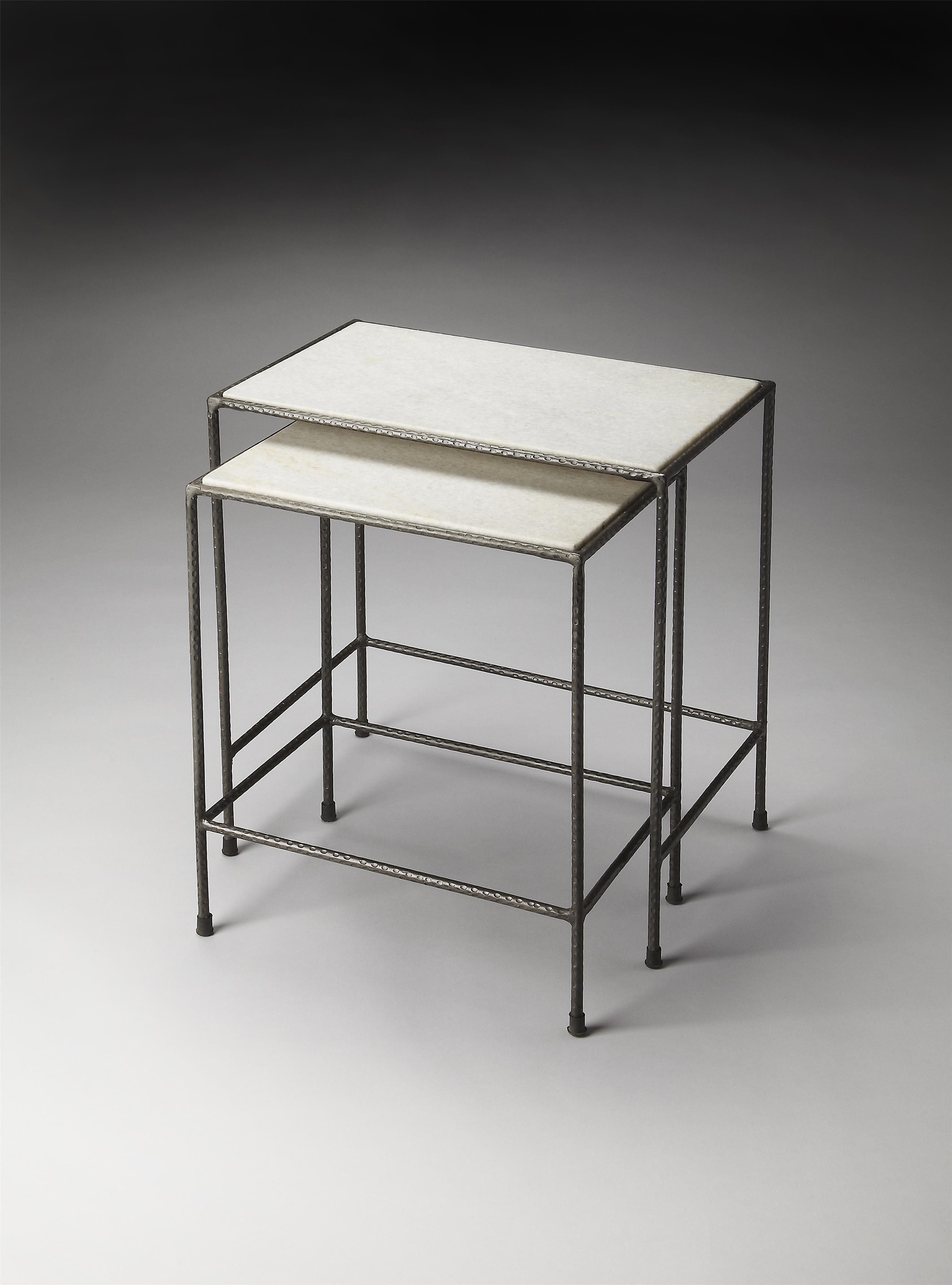 Butler Specialty Company Metalworks Nesting Tables - Item Number: 2870330