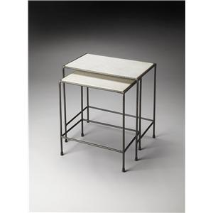 Butler Specialty Company Metalworks Nesting Tables