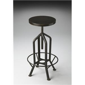 Butler Specialty Company Metalworks Revolving Bar Stool