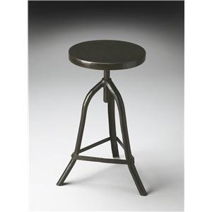 Butler Specialty Company Metalworks Revolving Stool