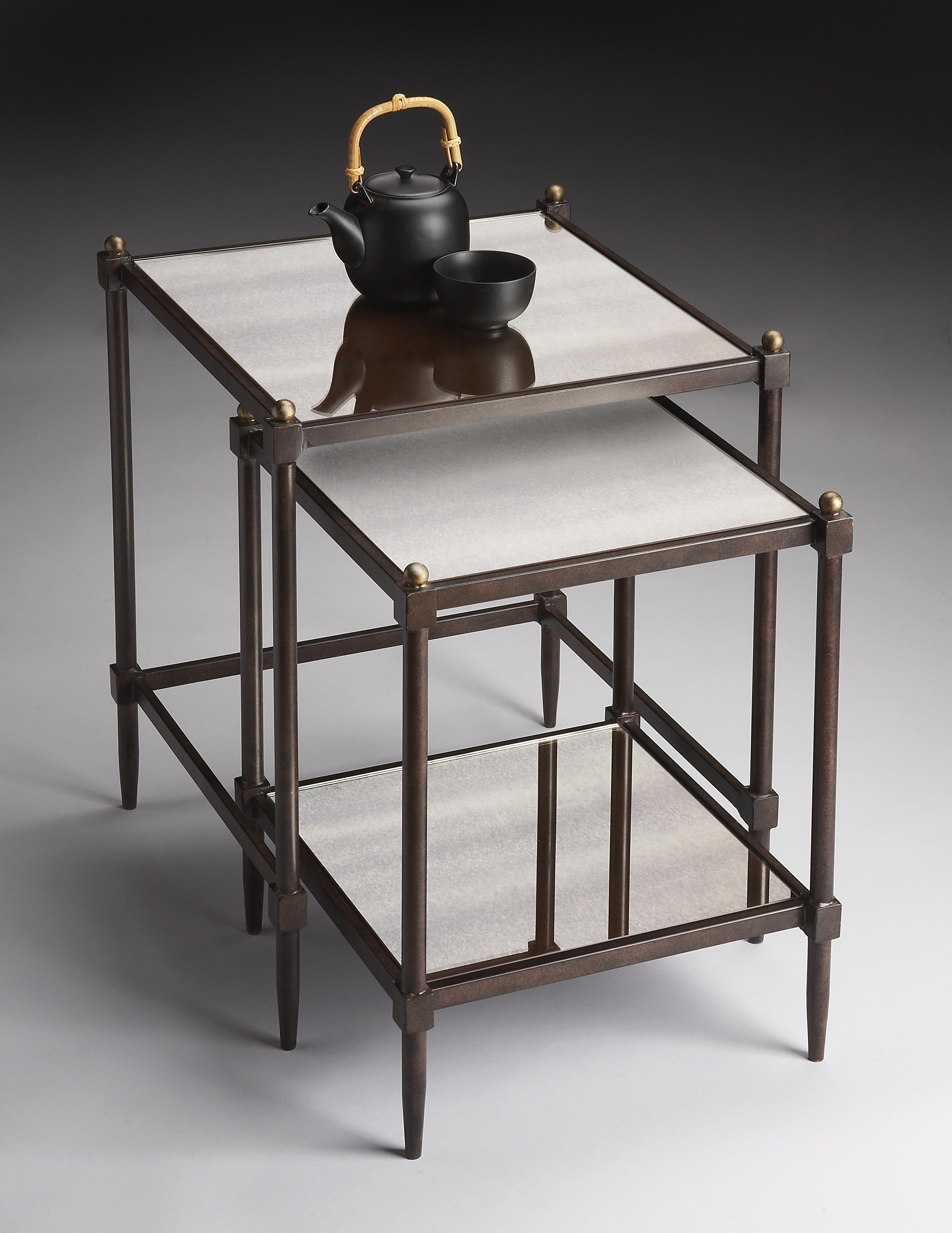 Butler Specialty Company Metalworks Nesting Tables - Item Number: 3047025