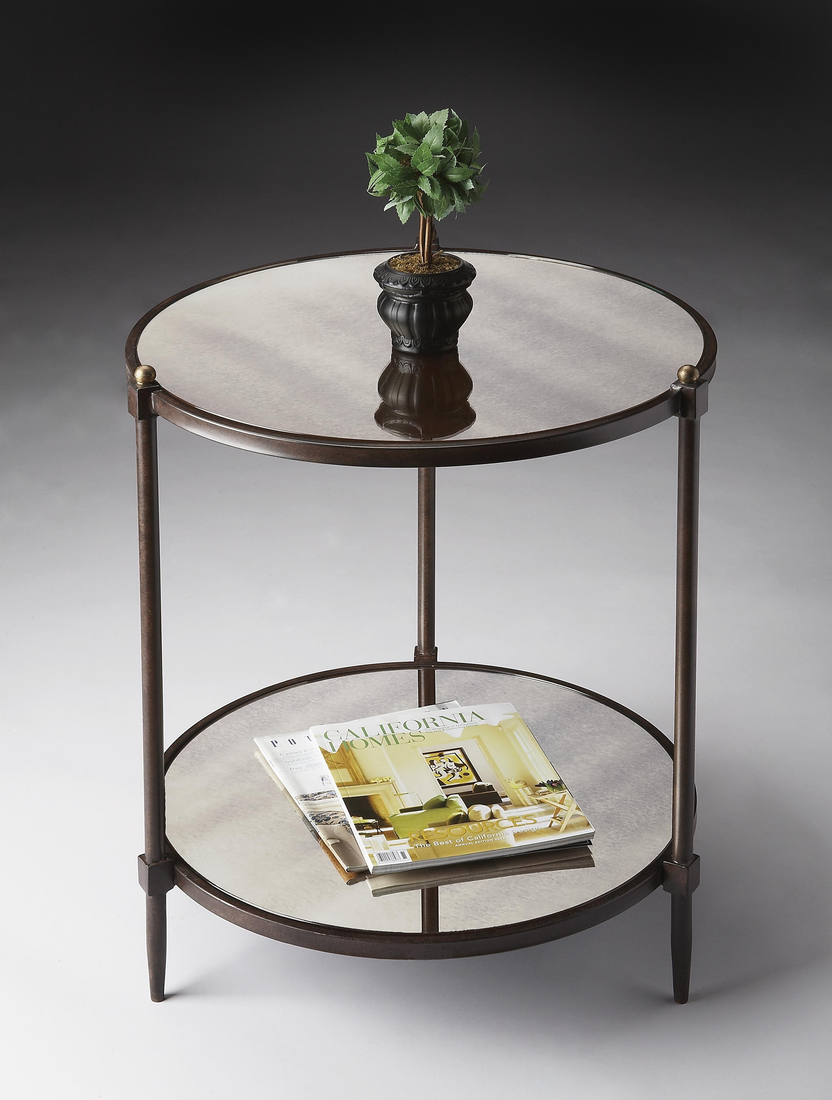 Butler Specialty Company Metalworks Side Table - Item Number: 3048025