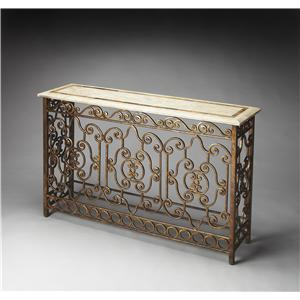 Butler Specialty Company Metalworks Console Table