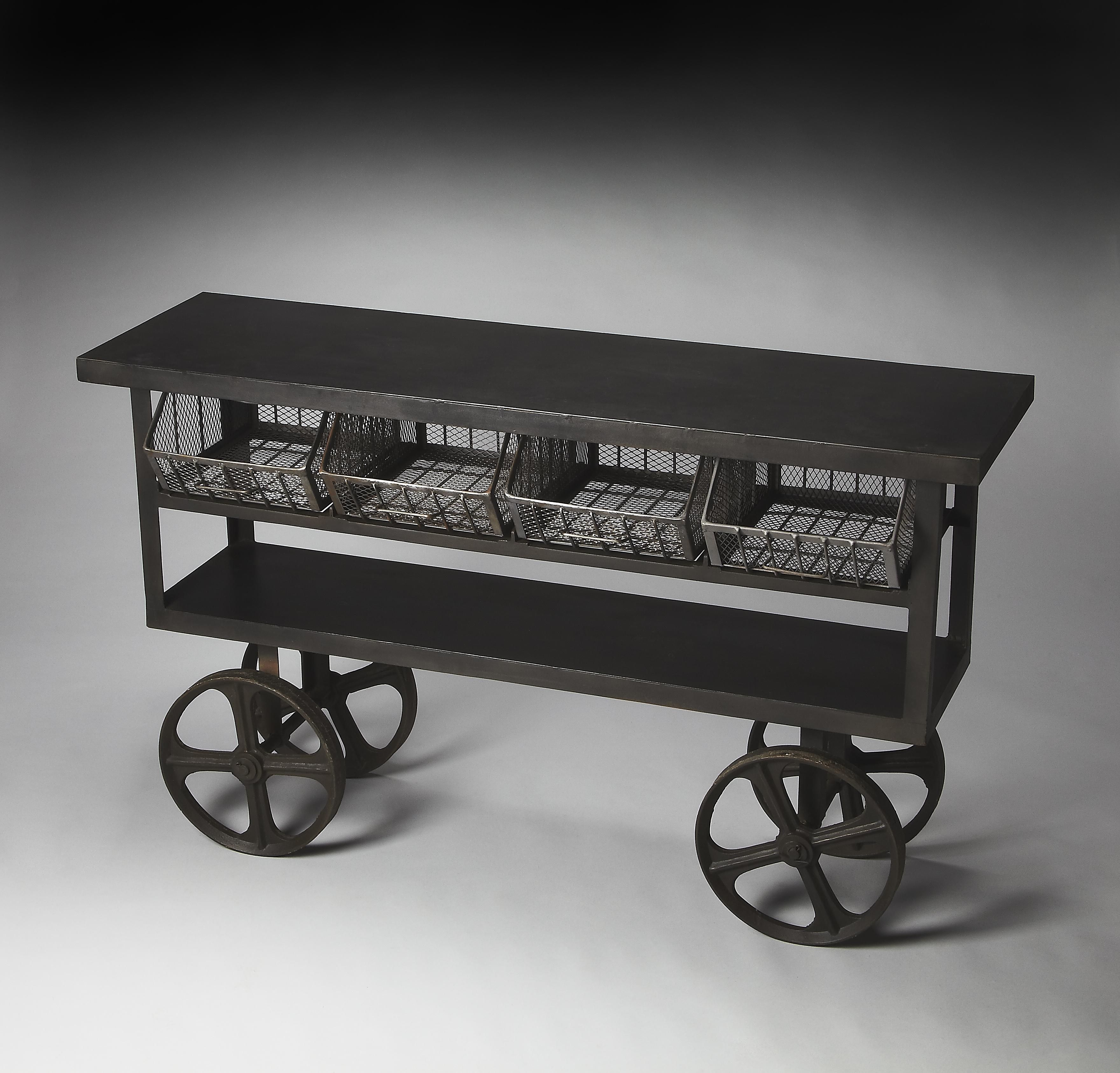 Butler Specialty Company Metalworks Trolley Buffet - Item Number: 3116025