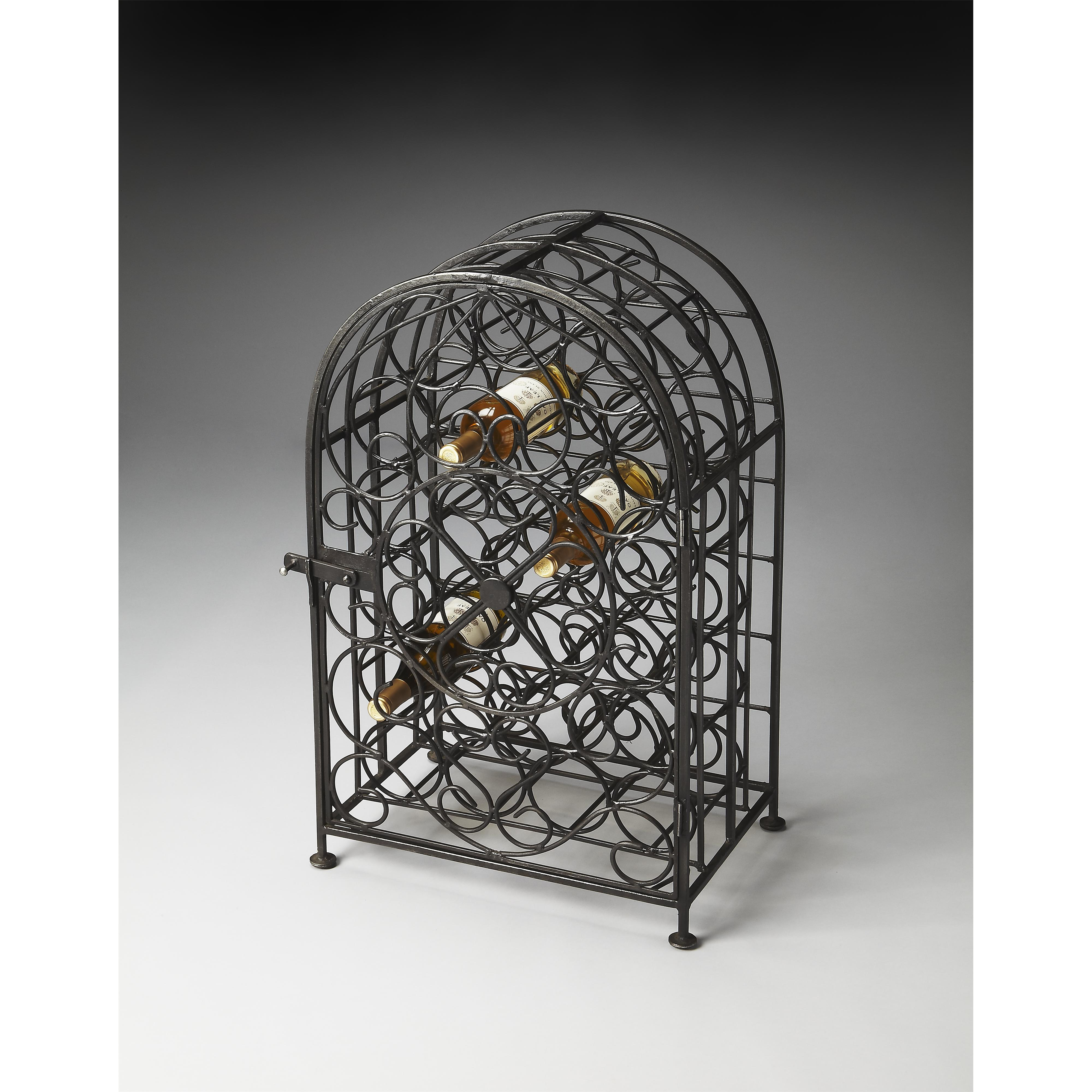 Butler Specialty Company Metalworks Wine Rack - Item Number: 3119025