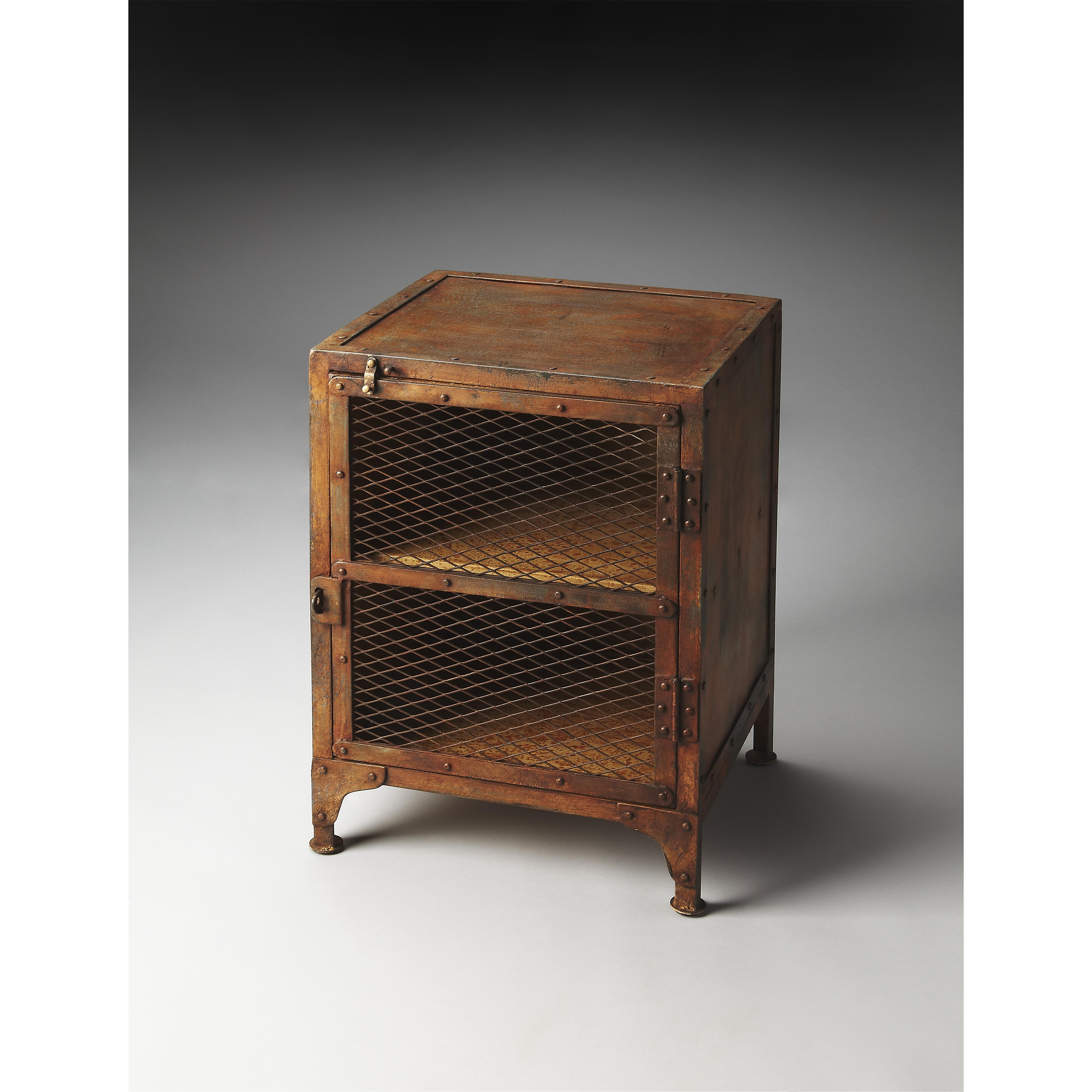 Butler Specialty Company Metalworks Chairside Chest - Item Number: 3132025