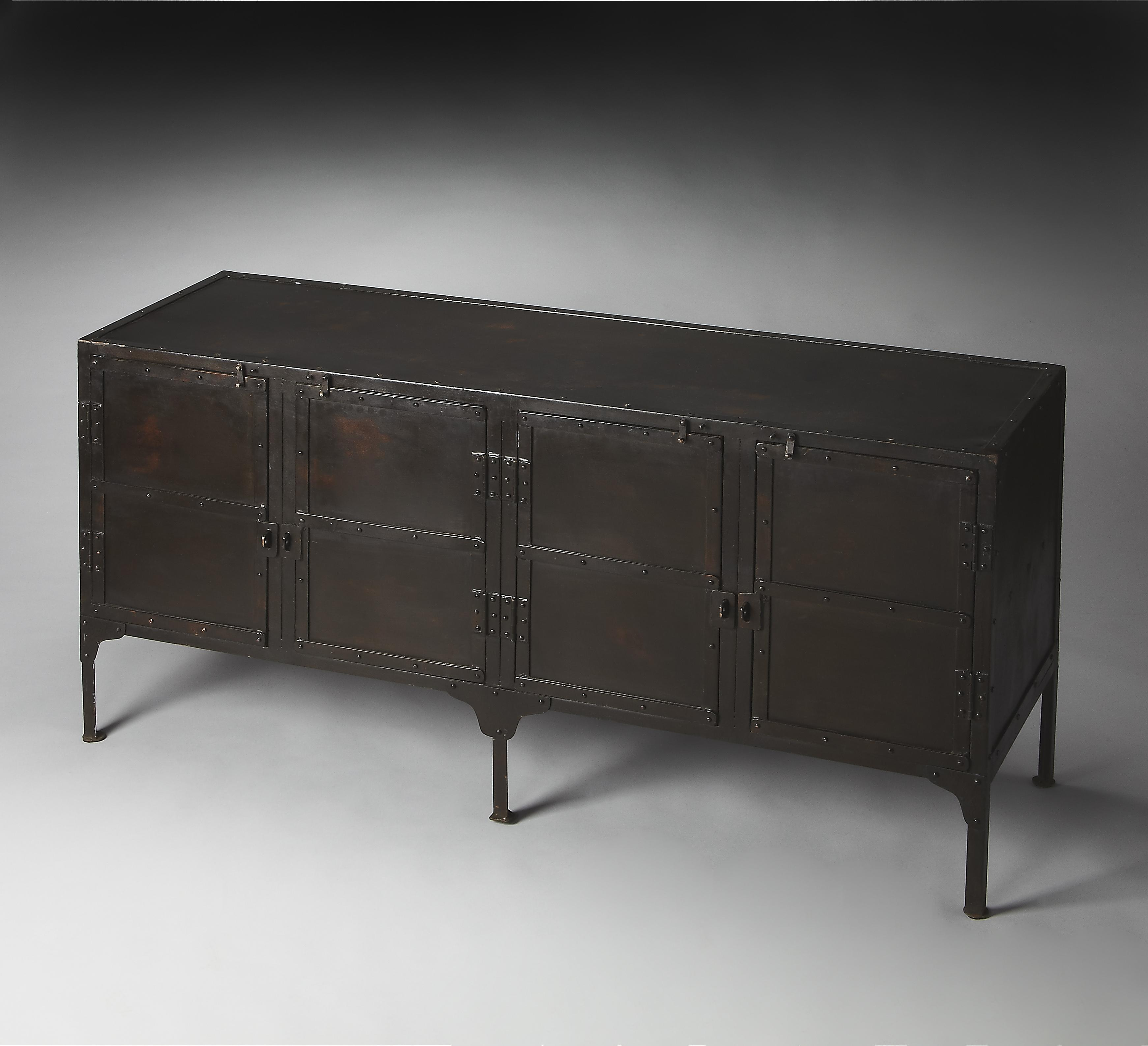 Butler Specialty Company Metalworks Console Cabinet - Item Number: 3164025