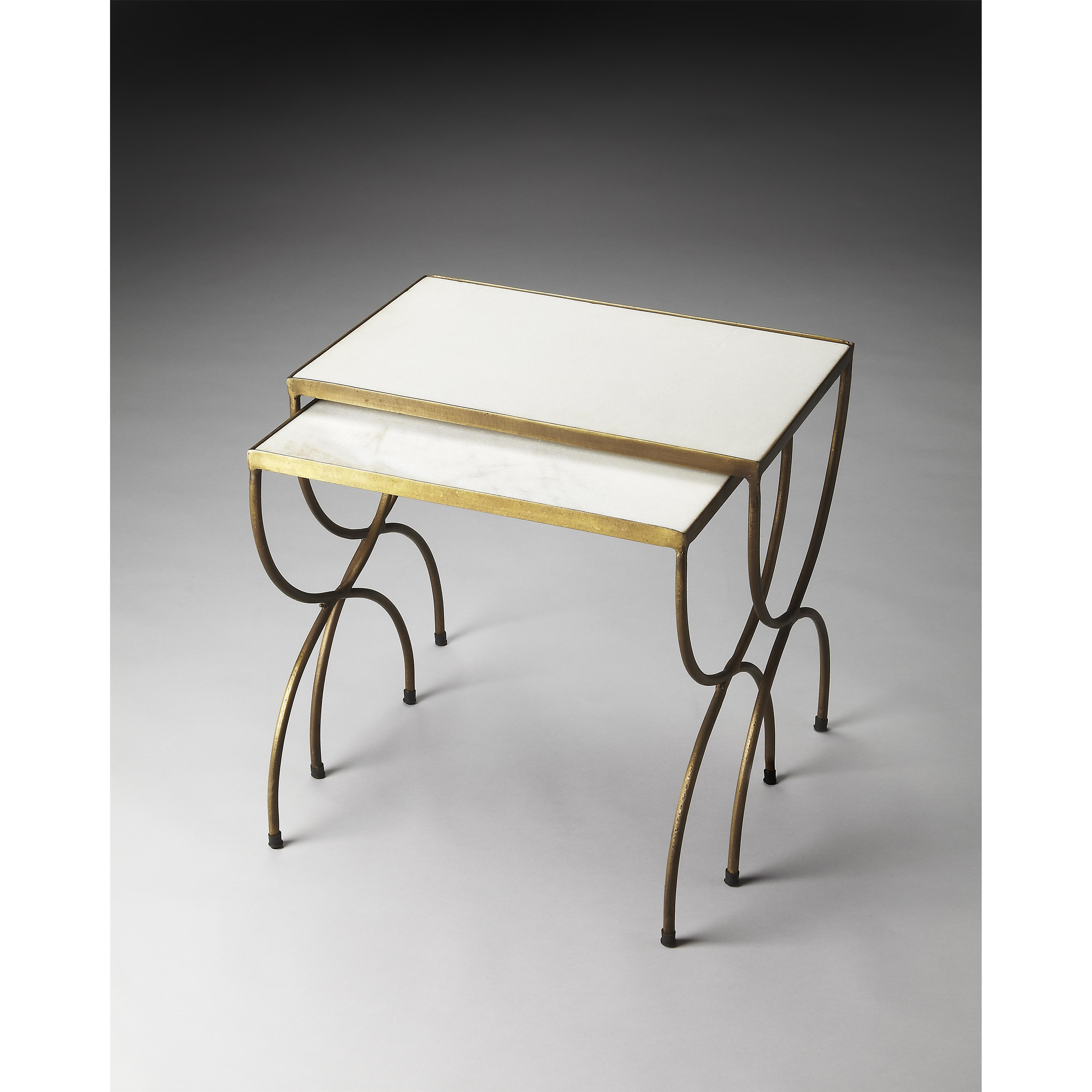 Butler Specialty Company Metalworks Nesting Tables - Item Number: 3309025
