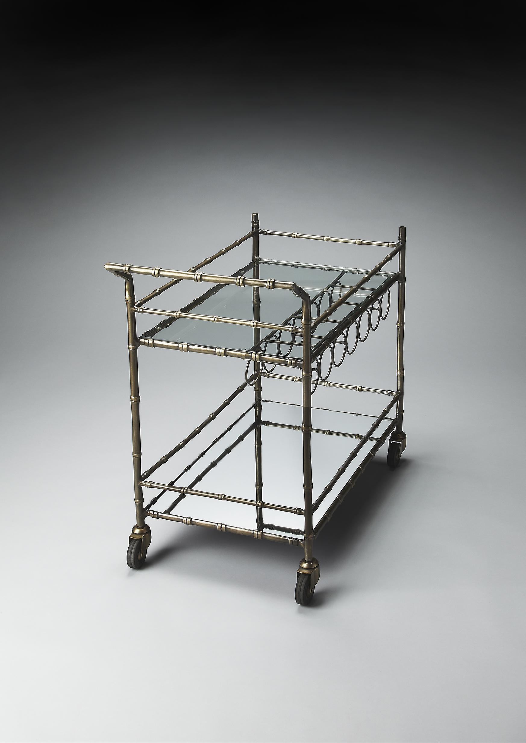 Butler Specialty Company Metalworks Bar Cart - Item Number: 4251025