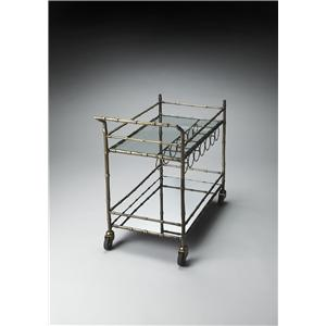 Butler Specialty Company Metalworks Bar Cart