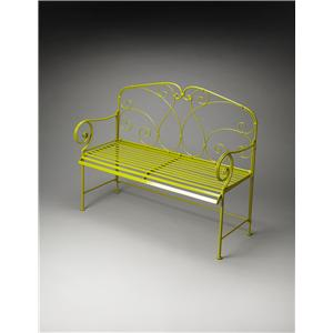 Butler Specialty Company Metalworks Halle Metal Bench
