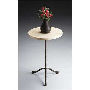 Butler Specialty Company Metalworks Pedestal Table
