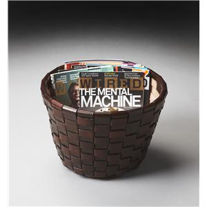 Butler Specialty Company Modern Expressions Magazine Basket