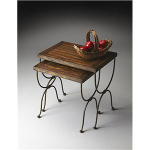 Butler Specialty Company Mountain Lodge Nesting Tables